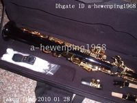 Wholesale great black Soprano Saxophone no brand made in ShanDong