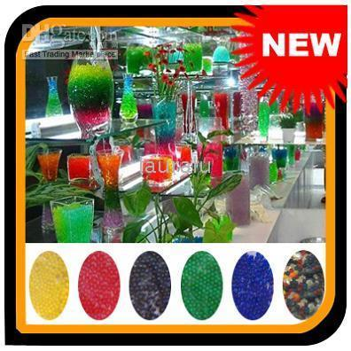 Wholesale 50 packets Magical Crystal Mud Soil Beads Fertilizer For Plant Flower