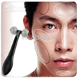 Wholesale 10 Pieces Men Facial Cheek T Type Face Roller Neck Massager
