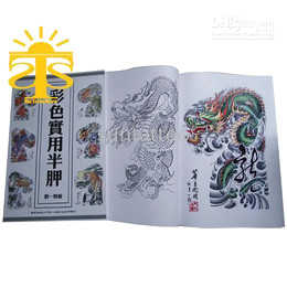 Wholesale popular design tattoo flash tattoo book tattoo magazine tattoo collection for haldshoulder blade