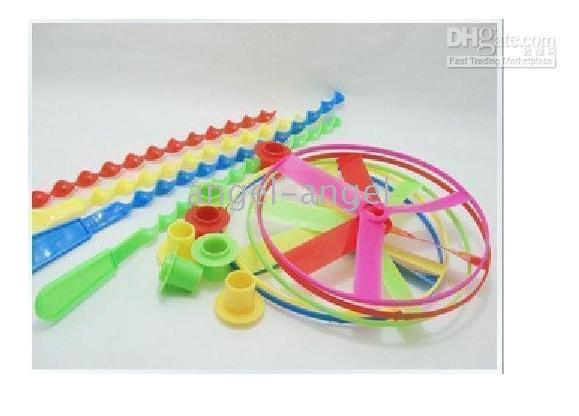 Wholesale hot sell pc Flying Fairy activity amsement toys cheap amp beautiful spinning tops