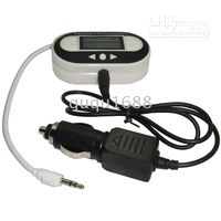 Wholesale New ch LCD FM Wireless Transmitter for car