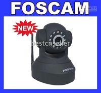 Wholesale FOSCAM Wireless Pan Tilt Zoom IP Camera WLAN WIFI CAM