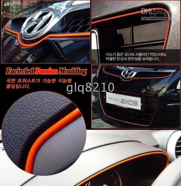 interior trim - NEW ARRIVAL Resin Interior Car Accessories Interior Trims Decoration Line Multicolor m