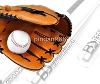 Wholesale sets BS bansuk hot silver baseball softball gloves ball inch