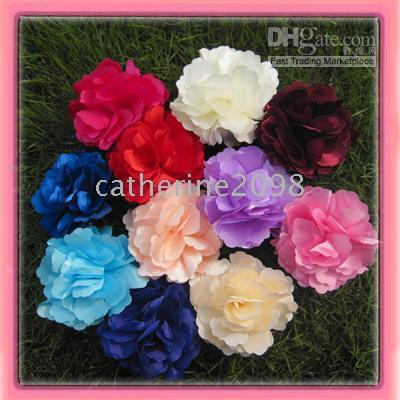 Wholesale Fahsion silk flower Lady s Hair Ornament Costume Accessory silk flower drop shipping