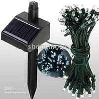 Red 52ft 100 LED Solar Power String Light Christmas Fairy , C...
