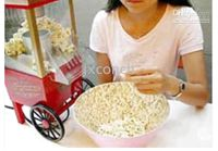 Wholesale Ship To Worldwide Nostalgic OLD FASHION HOT AIR POPCORN MACHINE POPPER POP CORN MAKER MOVIE Time