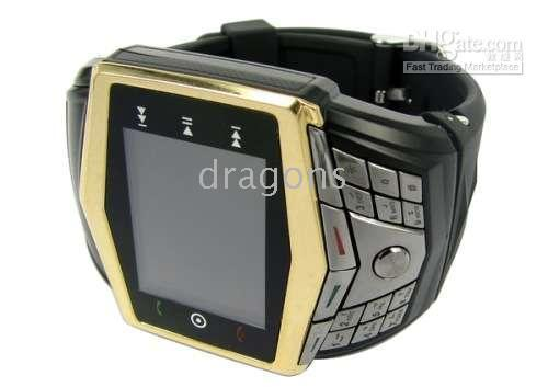 Wholesale GD910 watch phone Untra thin FM bluetooth Quadband Cell Phone Watch Cellular Phone with MP3 Camera