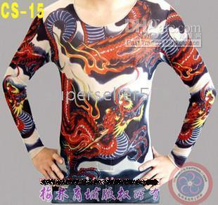 Wholesale fashionable hot sale T shirt long sleeve tattoo clothing tattoo tattoo ma10