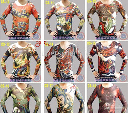 Wholesale fashionable hot sale T shirt long sleeve tattoo clothing tattoo tattoo ma17