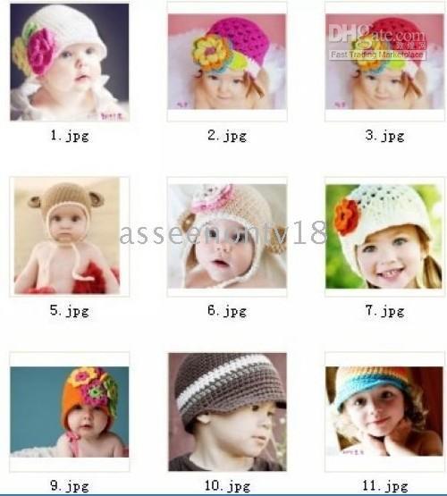 beanie babies hairpin - handmade caps baby hats Cap knitting hat beanies hairpin knitted hat girl headband kid good D