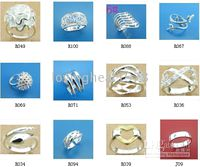 Wholesale Jewelry Manufacturer Hot selling New style silver rings High quality