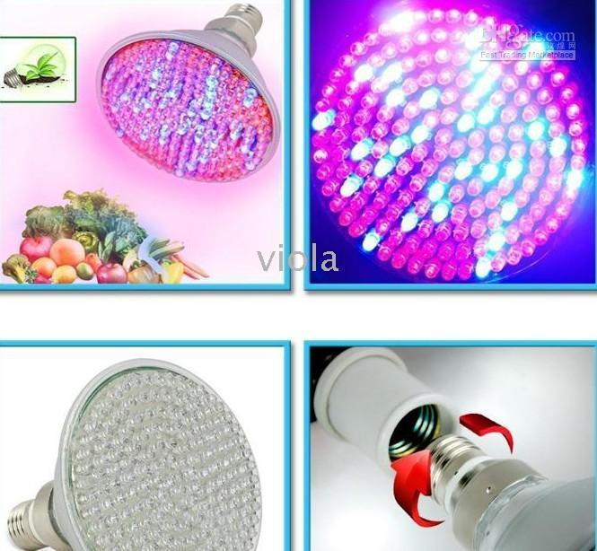 Wholesale 168 LED w Hydroponic Plant Grow Light Panel Red Blue