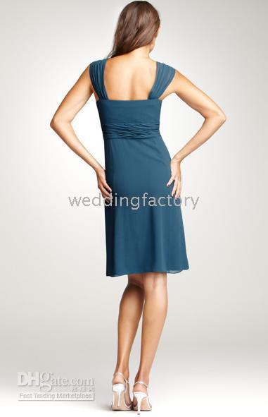 Ruffle ann dress - 2010 Ann Taylor sheath sweetheart strappy short chiffon green bridesmaid dresses online for gifts
