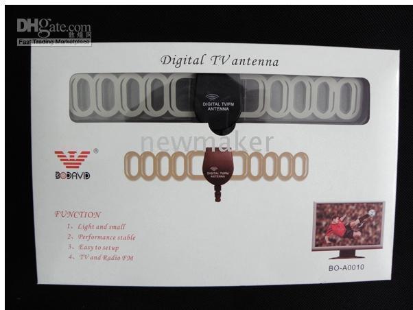 Wholesale DVB T TV Antenna Digital TV Antenna Car Mobile Digital DVB T TNT ANT003A