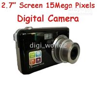 Wholesale 15 Mega Pixels Digital Camera x Optical Zoom Inch TFT LCD Screen Face Detection Gift Tripod