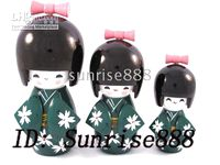 Wholesale Hot sale Los of sets Oriental Japanese Kokeshi dolls New