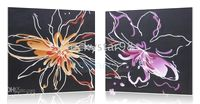 Wholesale Modern Flower Handicraft Art Oil Painting Home wall decorate paintings Framed