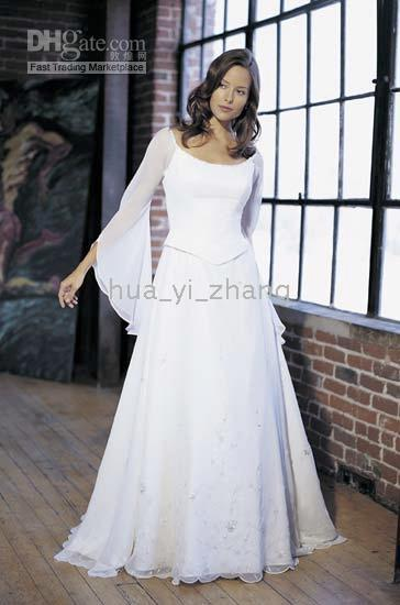 Wholesale Grecian Chiffon Wedding Dress Buy Cheap