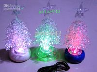 Wholesale USB Christmas Trees Colorful tree Lamp Christmas gift USB creative products