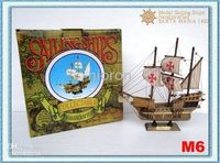 Wholesale Top Ship Model Sailing Ships Models Excellent Model Sailing Ships Handicrafted SANTA MARIA