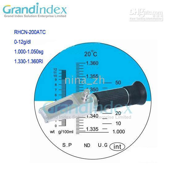 Wholesale Retail hand held Clinical Refractometer RHCN ATC with BUILT IN CALIBRATION KNOB
