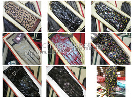 Animal Flower Leather Gloves goat Leather skin gloves LEATHER GLOVES Womens 12pairs lot #1533