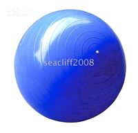 Wholesale exercise amp fitness cm Anti Burst PVC Yoga Ball Gym Balls with pump free