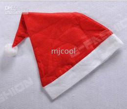 wholesale Christmas HAT Red 30X40CM Size, 10Pcs lot, best CHRISTMAS