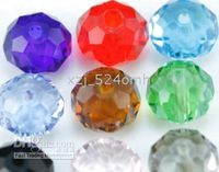 Wholesale China s ornaments Exempt freight mixed glass crystal beads mm
