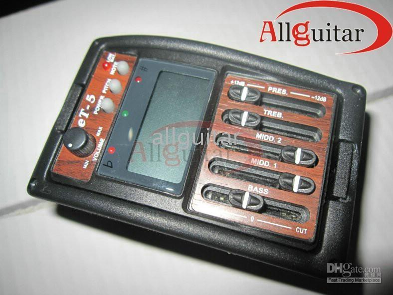 Wholesale NEW Arrival Brand Equalizer pickups ET for Acoustic Guitars