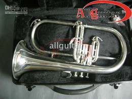silver TRUMPET with case Professional TRUMPET BRASS