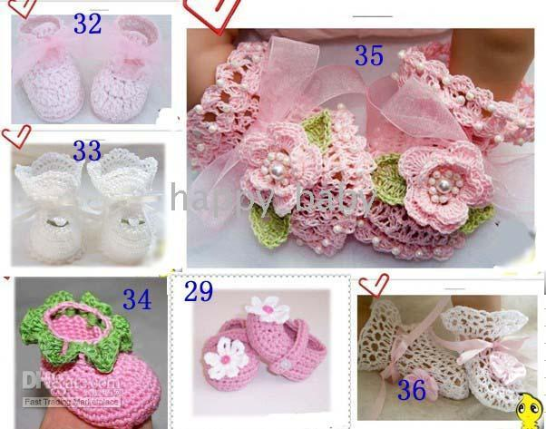 Wholesale WOW WOW new come HOT sell Handmade baby Crochet shoe Baby First Walker Shoes infant toddler HANDMADE shoes booties
