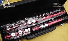 New Red 16 key Music Instrument Flute