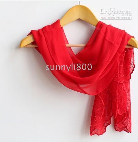 Wholesale The Fanciful Leaves Pure Silk Long Jacquard Fashion Women Scarf