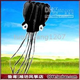 5.5m octopus Stunt POWER black Sport Kite