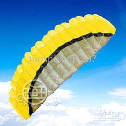 SALE HOT ! 2.5M 2 Line Stunt Parafoil Power Sport Kite