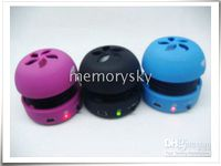 Wholesale Hamburger Mini Speaker Portable Rechargeable USB Mini Speaker For mp3 mp4 laptop notebook New