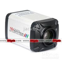 Wholesale DSP Vari focal Intergrated Color CCD Camera X Auto Focus SONY CCD Chip TV Lines