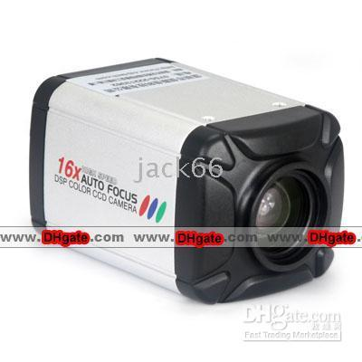 Indoor dsp color ccd camera - DSP Vari focal Intergrated Color CCD Camera X Auto Focus SONY CCD Chip TV Lines