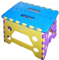 Wholesale saa903 NEW BLUE quot Folding Foldable Plastic Step Stool Chair Free