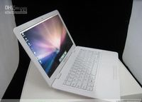 Wholesale Netbook PC laptop notebook air book inch Intel N280 WIFI camera with white keypad
