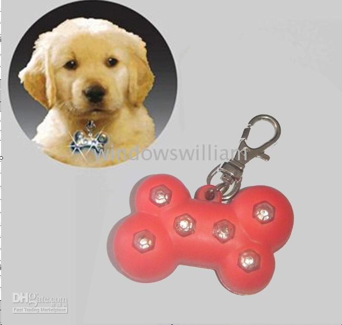 Wholesale 150pcs Pet safety light protect your dog dog s led blinking pet paw LED light for pet