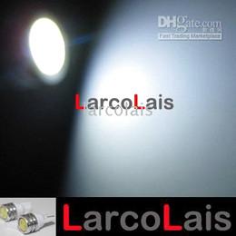 2Pcs 194 168 T10 1W High Power LED Car Truck Light Lights Bulbs 1LED WHITE
