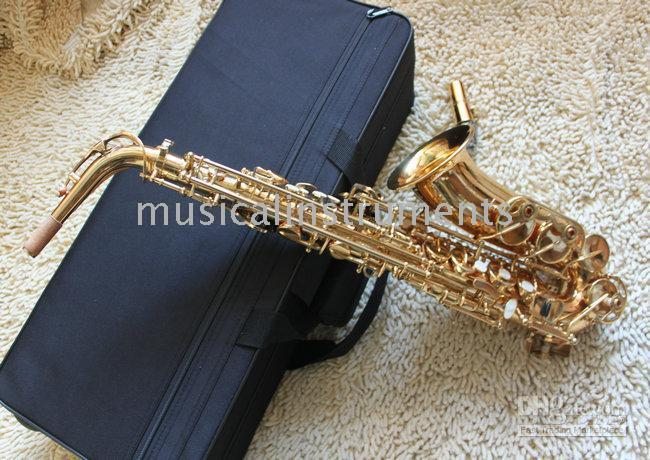 Wholesale New Arrival Very nice Woodwind Brass Y Gold Alto Saxophone Very beautiful