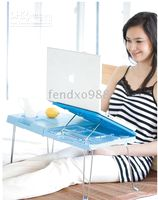 Cheap Folding computer desk Folding Laptop Notebook Bed Table Desk Stand.1