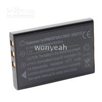 Wholesale 1400mAh NP Li Ion Digital Camera Replacement Battery