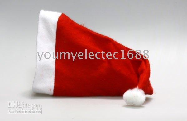 Discount baby adult cap hat Christmas holiday party Decoration hats Xmas caps Santa Claus hat adults children kids baby Christmas Cosplay Hats gift new