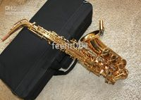 Wholesale Guitar saxophone YAMAHA475 ALTO GOLDEN SAXOPHONE WITH CASE FREE FRIGHT